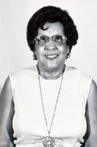 Johnnie Mae Berry served as the first full-time librarian.  The library was named in her honor at an event on June 29, 1979. A plaque bearing her likeness and information is also affixed at the current entrance to the library.