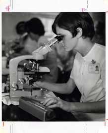 Laboratory Technician student, 1969