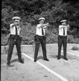 Law Enforcement students, date unknown