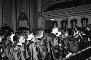 Graduation - Sept. 18, 1988 at Cincinnati Music Hall