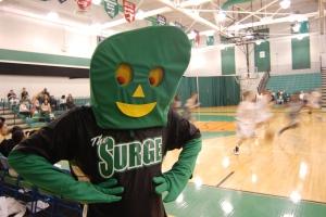 Cincinnati State Surge Mascot - 2010