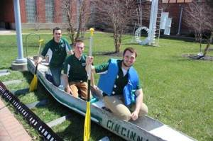 Cincinnati State ASCE concrete canoe 2014