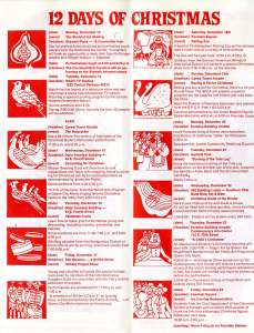 December 1976 Celebrate Christmas downtown brochure