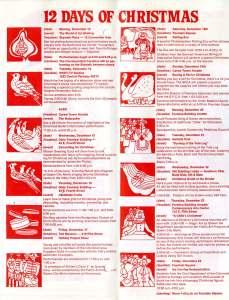 December 1976 Celebrate Christmas downtown brochure